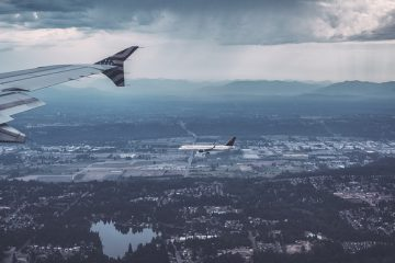 Airline Plane Aeroplane Airborne